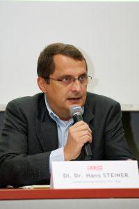 """Prof. Hans Steiner: """"Absolut barrierefrei. Foto: Steinthaler"""