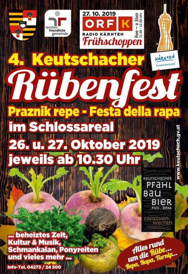 4. Rübenfest auf dem Schlossareal der Gemeinde Keutschach am See