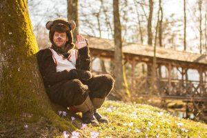 Bärenstarke Geschichten aus dem Seental Keutschach mit Benno. Foto: Nicolas Zangerle